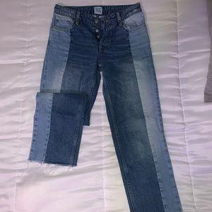 Multi Color Blue Jeans